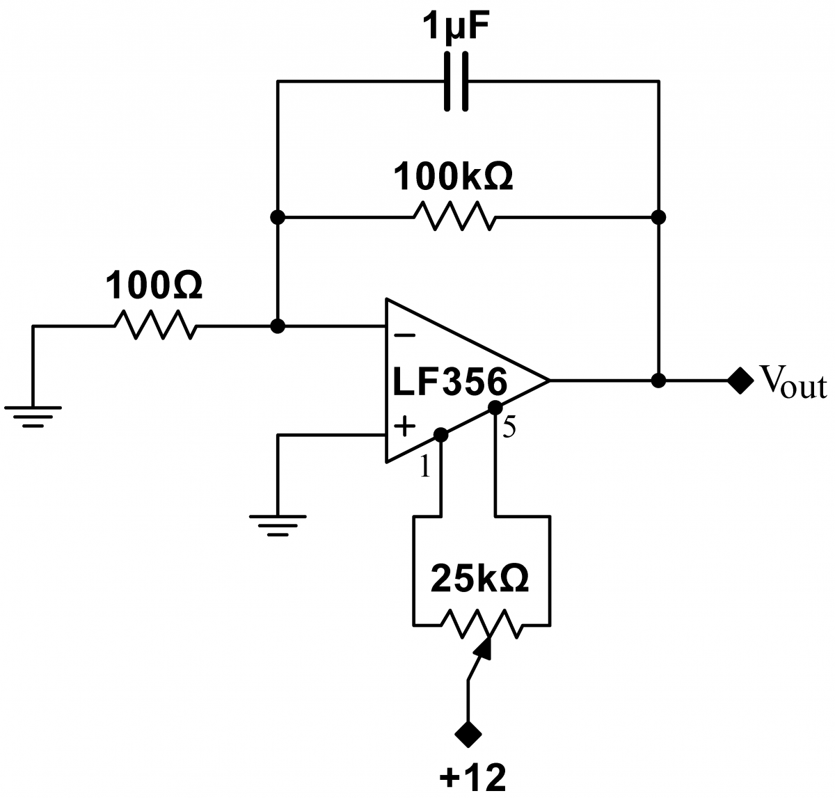 Standard Offset Nulling Circuit For Comparators Electronics Forum Op Amp Comparator Circuits Projects And Microcontrollers