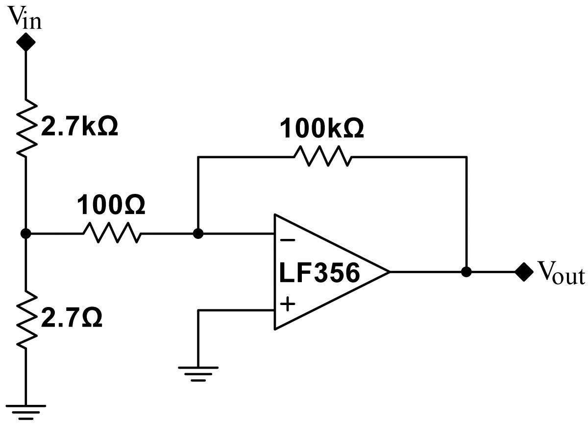 Lab 8 Op Amps Iii Instrumentation Digital White Noise Generator Circuit Close Loop Gain
