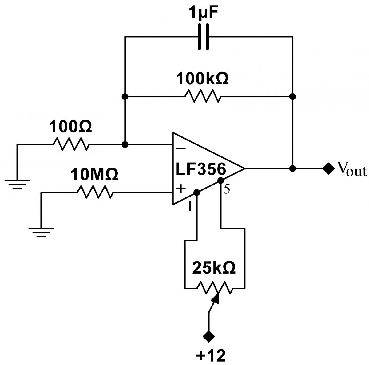 Lab 8 Op Amps Iii Instrumentation Triangle Wave Generator Schematic Input Bias Current 1
