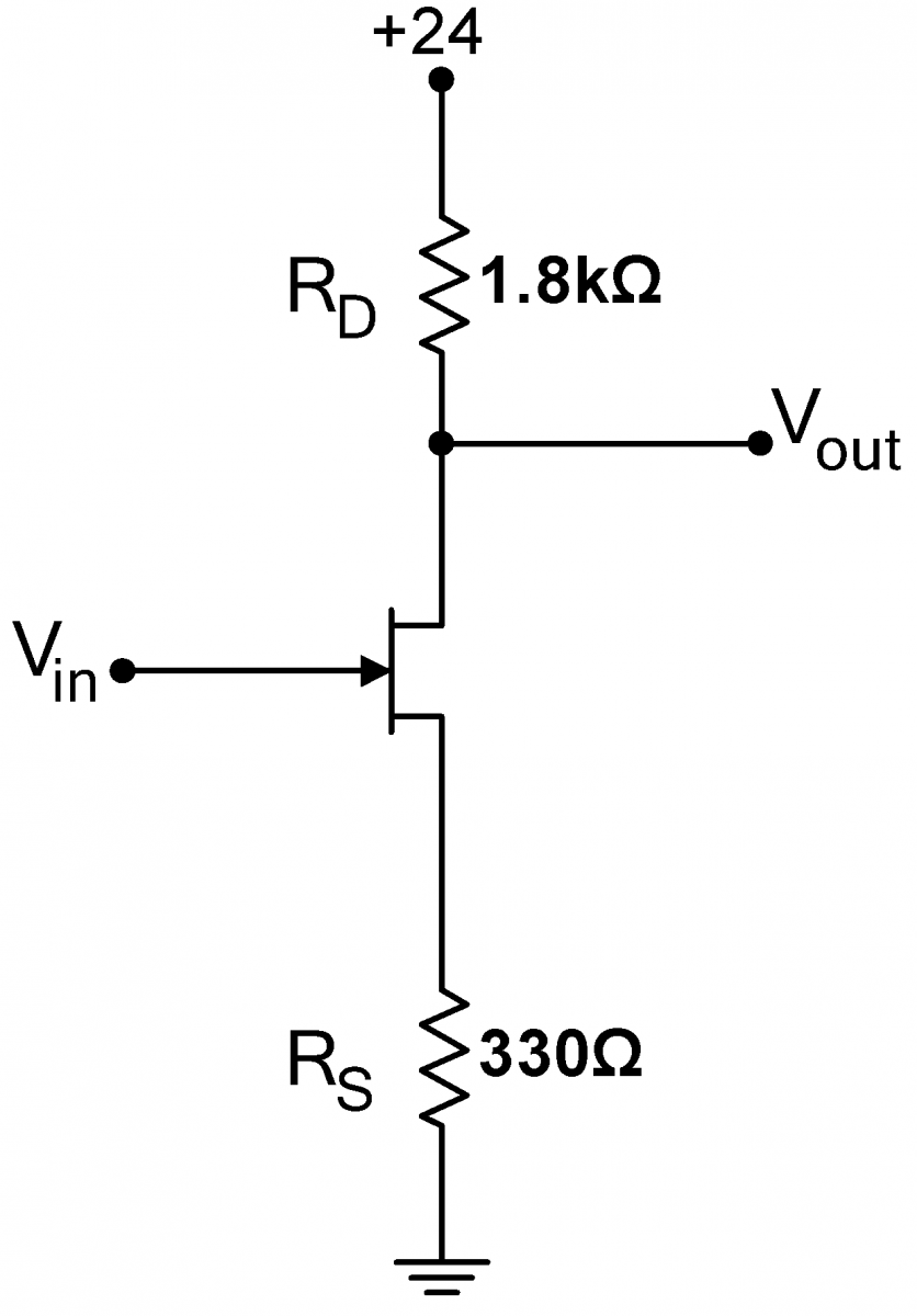 Lab 5 Jfet Circuits Ii Instrumentation Circuit The Is Now Likely To Work As Original Signal Amp