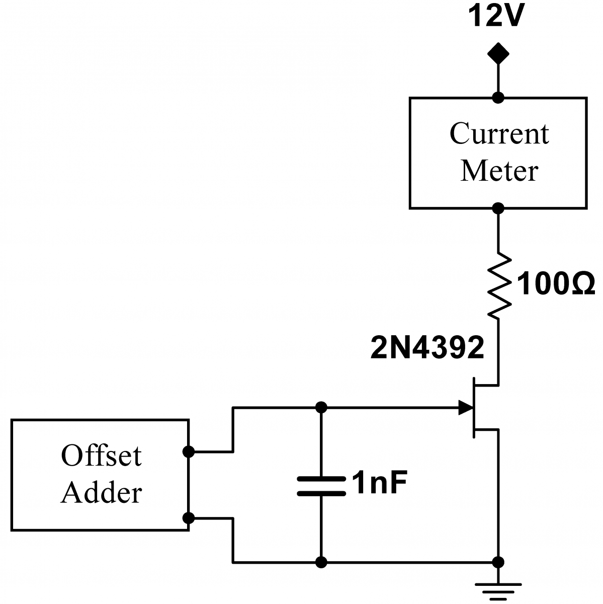 JFET_Gate_Characteristic lab 4 jfet circuits i instrumentation lab
