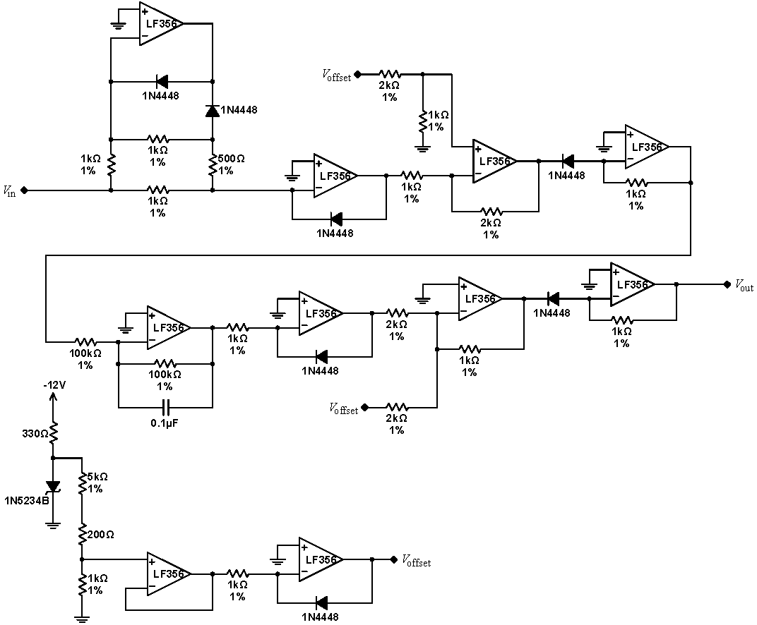 Lab 7 Op Amps Ii Instrumentation Types Of Amp Circuit Rms Converter