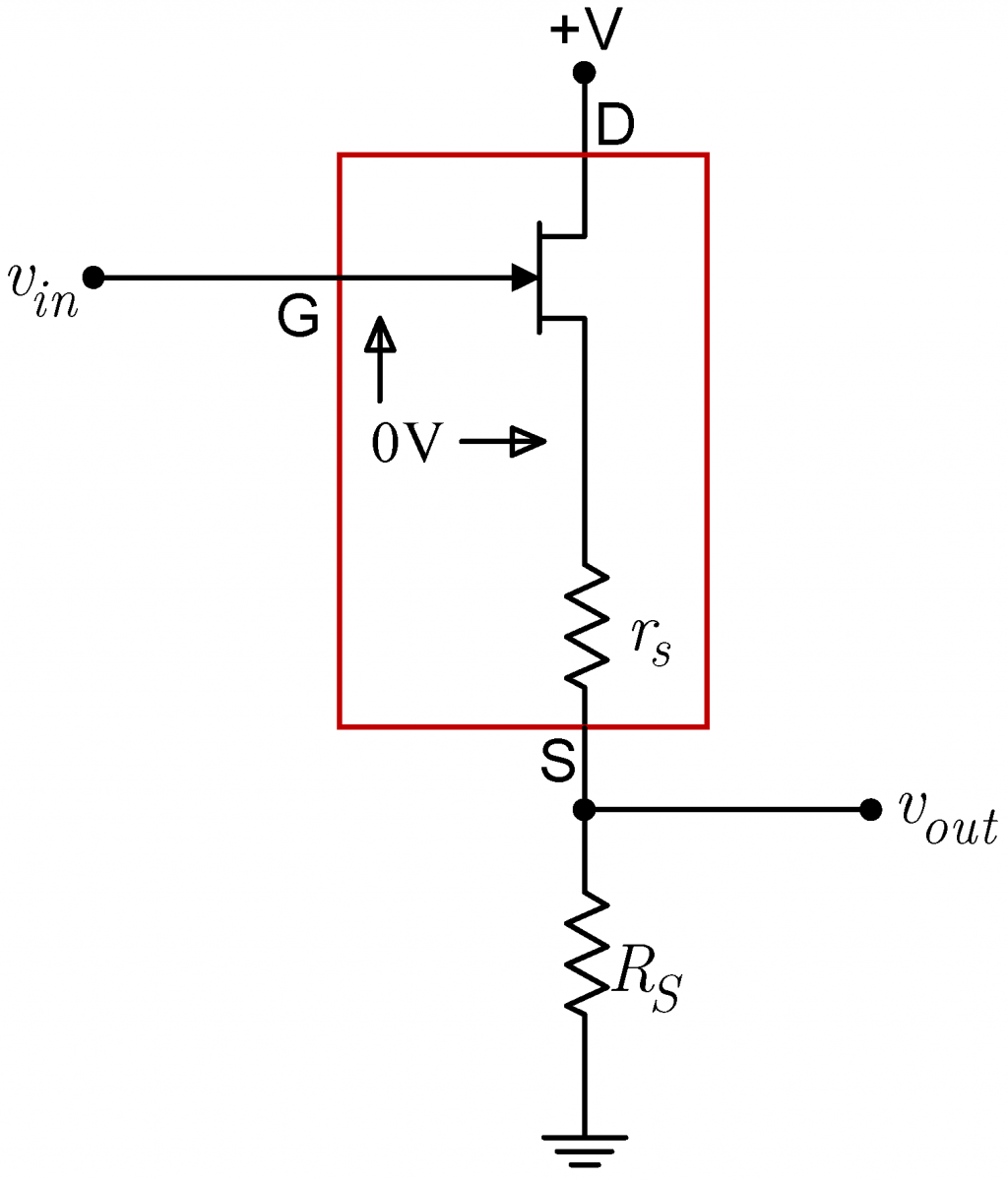 Lab 4 Jfet Circuits I Instrumentation Amplifier Circuit Diagram Follower Source Resistance Mode